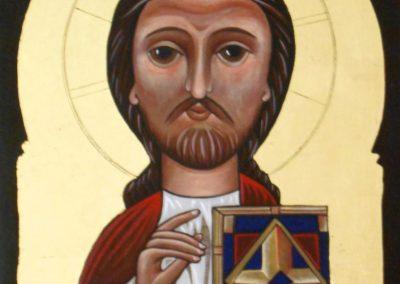 Christ Pantocrator Coptic