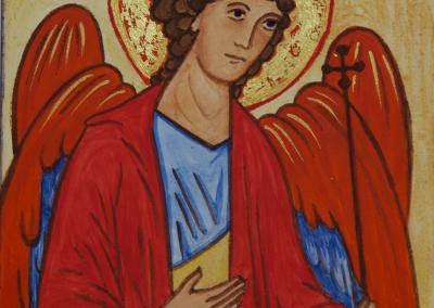 Archangel Michael miniature