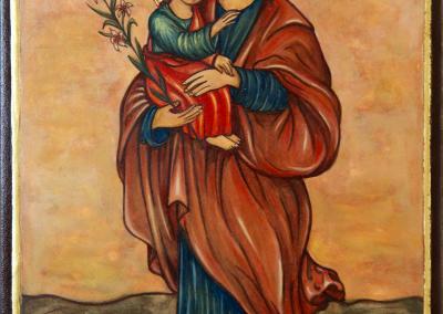 Joseph and Child Coptic 18th Century